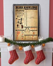 Beard Knowledge 16x24 Poster lifestyle-holiday-poster-4
