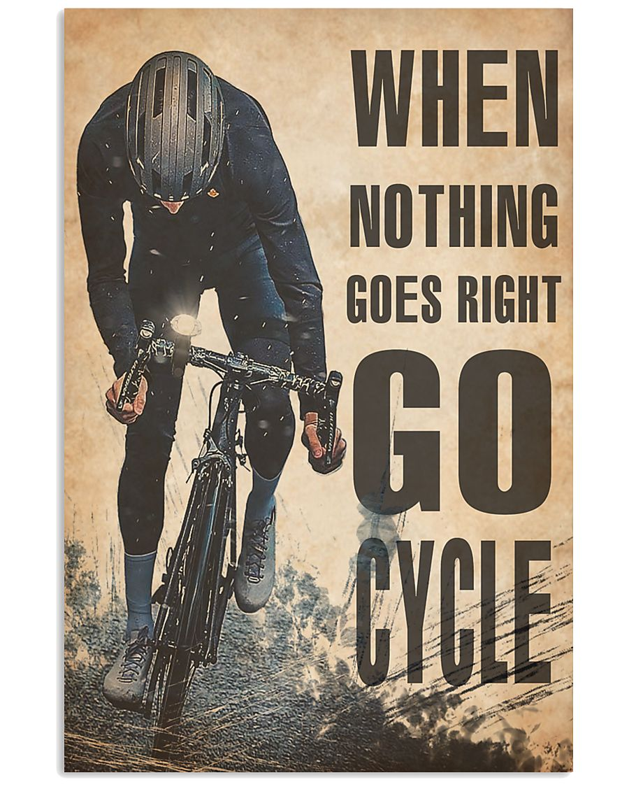 Cycling  24x36 Poster