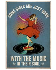 Girls Born With Music 24x36 Poster front