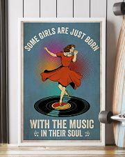 Girls Born With Music 24x36 Poster lifestyle-poster-4