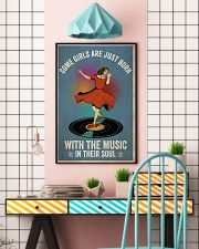 Girls Born With Music 24x36 Poster lifestyle-poster-6