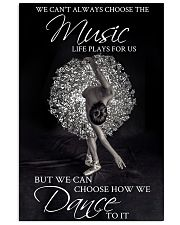 Ballet Choose The Music 24x36 Poster front