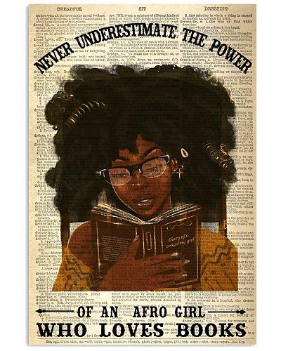 Afro Girl Loves Books