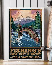 Fishing Is Not Just A Sport 24x36 Poster lifestyle-poster-4