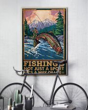 Fishing Is Not Just A Sport 24x36 Poster lifestyle-poster-7