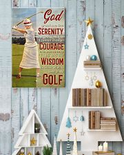 Golfer God Grant Me  24x36 Poster lifestyle-holiday-poster-2