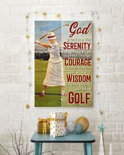 Golfer God Grant Me  24x36 Poster lifestyle-holiday-poster-3