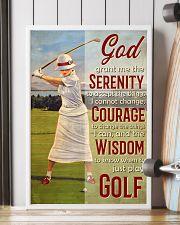 Golfer God Grant Me  24x36 Poster lifestyle-poster-4