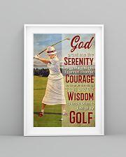 Golfer God Grant Me  24x36 Poster lifestyle-poster-5