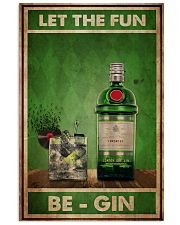 Gin Let The Fun  24x36 Poster front