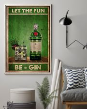 Gin Let The Fun  24x36 Poster lifestyle-poster-1
