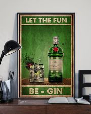 Gin Let The Fun  24x36 Poster lifestyle-poster-2