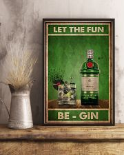 Gin Let The Fun  24x36 Poster lifestyle-poster-3