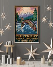 Fishing The Trout Are Calling 24x36 Poster lifestyle-holiday-poster-1