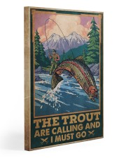 Fishing The Trout Are Calling 20x30 Gallery Wrapped Canvas Prints thumbnail