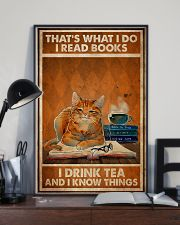 Cat That's What I Do 2 24x36 Poster lifestyle-poster-2