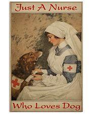 Nurse Love Dog  24x36 Poster front