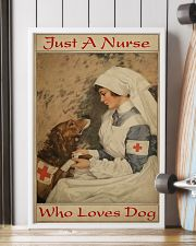 Nurse Love Dog  24x36 Poster lifestyle-poster-4