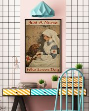 Nurse Love Dog  24x36 Poster lifestyle-poster-6