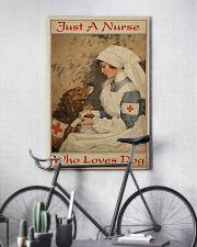 Nurse Love Dog  24x36 Poster lifestyle-poster-7