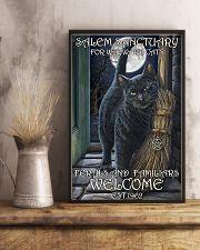 Cat Salem Sanctuary 2 24x36 Poster lifestyle-poster-3