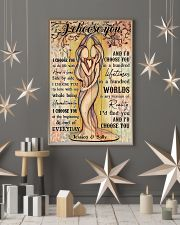 Lesbian I Choose You 24x36 Poster lifestyle-holiday-poster-1