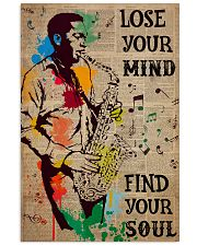Saxophone Man Lose Your Mind Find Your Soul  24x36 Poster front