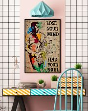 Saxophone Man Lose Your Mind Find Your Soul  24x36 Poster lifestyle-poster-6
