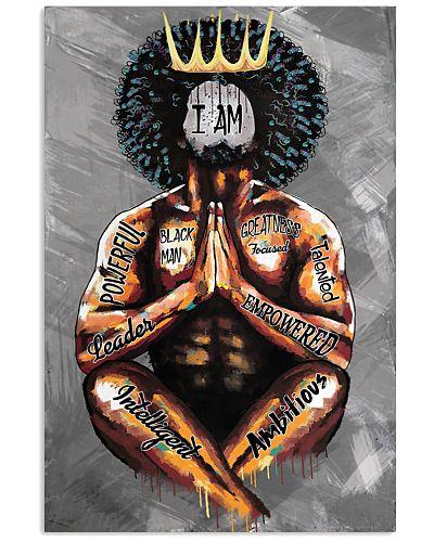 Black King Praying I Am