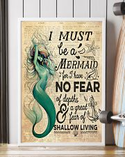 Mermaid No Fear 24x36 Poster lifestyle-poster-4