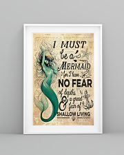 Mermaid No Fear 24x36 Poster lifestyle-poster-5