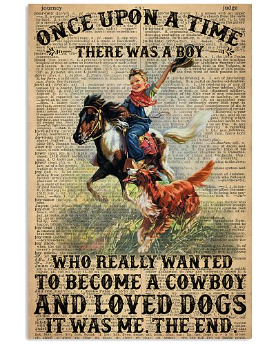 A Little Cowboy Loves Dogs Dictionary