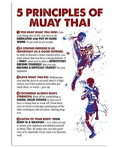 5 Principles Of Muay Thai