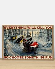 Snowmobile Choose Something Fun  36x24 Poster poster-landscape-36x24-lifestyle-03