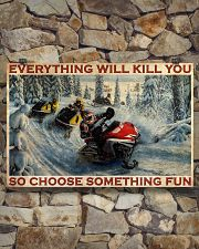 Snowmobile Choose Something Fun  36x24 Poster poster-landscape-36x24-lifestyle-15