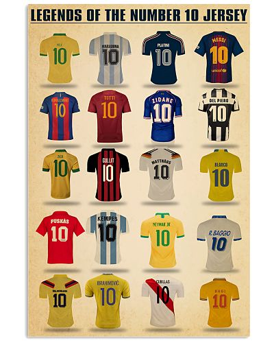 Legends Of The Number 10 Jersey