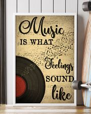 Music Is What Feeling Sounds Like 24x36 Poster lifestyle-poster-4