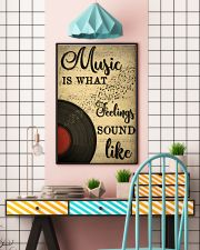 Music Is What Feeling Sounds Like 24x36 Poster lifestyle-poster-6