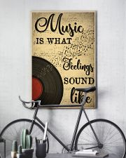 Music Is What Feeling Sounds Like 24x36 Poster lifestyle-poster-7