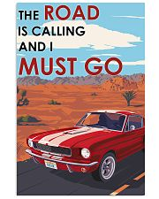 Ford The Road Is Calling Vertical Poster tile