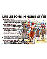 Life Lessons In Horse Style 36x24 Poster front