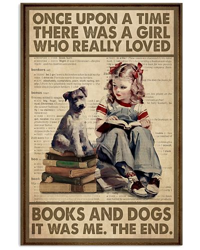OUAT Girl Loved Books And Dogs