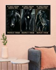 Black Horse If They Stand 36x24 Poster poster-landscape-36x24-lifestyle-18