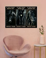Black Horse If They Stand 36x24 Poster poster-landscape-36x24-lifestyle-19