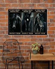 Black Horse If They Stand 36x24 Poster poster-landscape-36x24-lifestyle-20