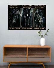 Black Horse If They Stand 36x24 Poster poster-landscape-36x24-lifestyle-21