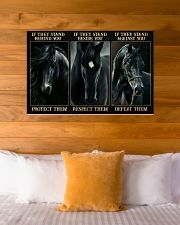Black Horse If They Stand 36x24 Poster poster-landscape-36x24-lifestyle-23