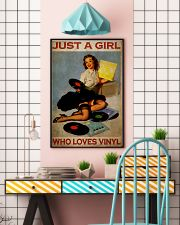 Girl Loves Vinyl 2 24x36 Poster lifestyle-poster-6