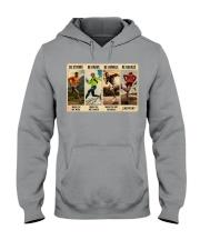 Running Be Strong  Hooded Sweatshirt tile