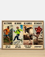 Running Be Strong  36x24 Poster poster-landscape-36x24-lifestyle-03